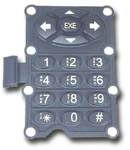 Rubber Keypads from Liquid Crystal Technologies
